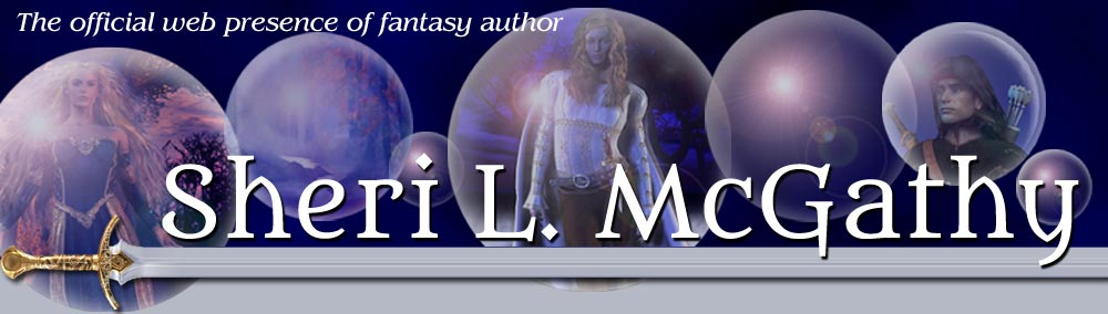 The official web presence of fantasy author Sheri L. McGathy